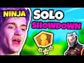 NINJA WANTS TO CHANGE SOLO SHOWDOWN (COMPETITIVE FORTNITE) | Fortnite Daily Funny Moments Ep.73 MP3