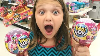 Toy Shopping at Target For PIKMI POPS Surprise-Unboxing Pikmi Pops