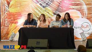 KathNiel Kilig Moments at Q & A during Crazy Beautiful You Blogcon
