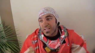 Dakar 2016: Uyuni, Ivan Cervantes dopo la caduta