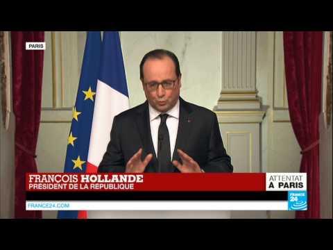 Attentat à Paris : François Hollande annonce une journée de deuil national jeudi 8 janvier 2015