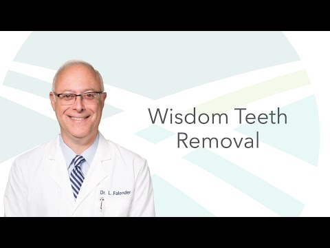 Dr. Falender on Wisdom Teeth Removal   Indianapolis Oral Surgery & Dental Implant Center