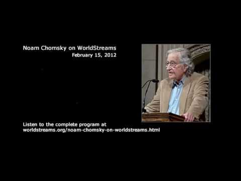 Noam Chomsky discusses Iran nuclear issue on WorldStreams