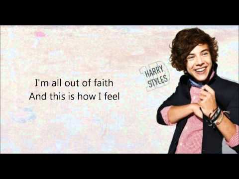 Torn (acoustic) - One Direction [lyrics] video