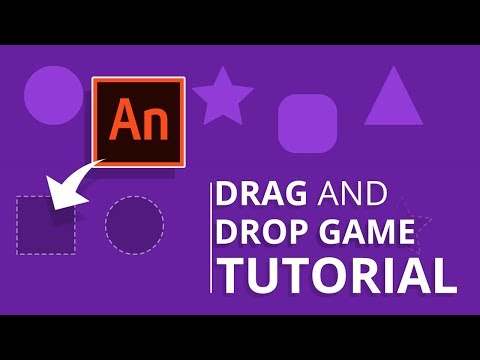 Animate CC - Drag and Drop Game Tutorial (HTML5)