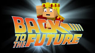 "Back To The Future 2015 ""Minecraft Animation"""