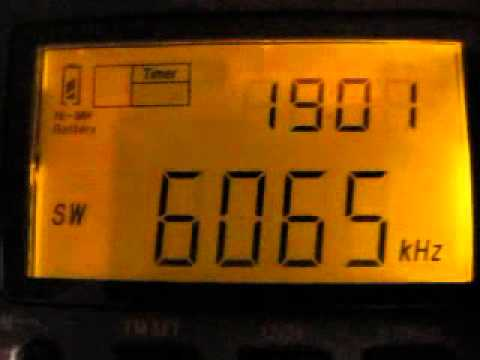 Radio Netherlands Final English Sign On on 6065 kHz