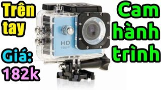 Trên tay camera hành trình Full HD 1080p giá rẻ (Sport Cam)