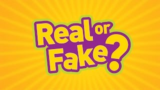 REAL OR FAKE | PHOTO GUESSING GAME!!