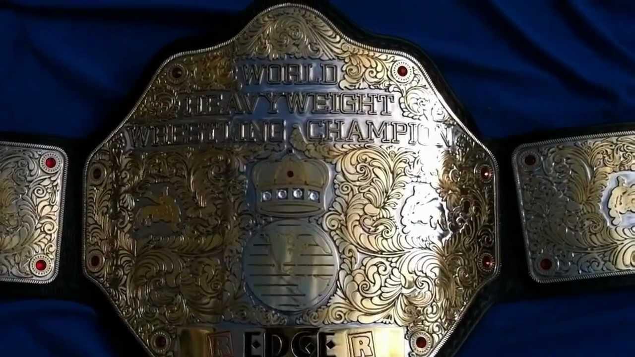 real wwe world heavyweight championship belt youtube