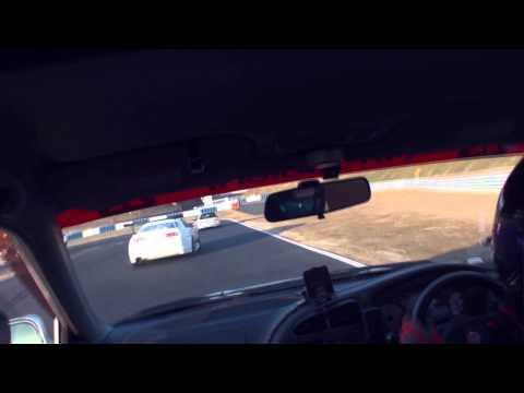 岡山国際サーキット ランエボ500馬力 vs スープラ600馬力 一騎打ちバトル