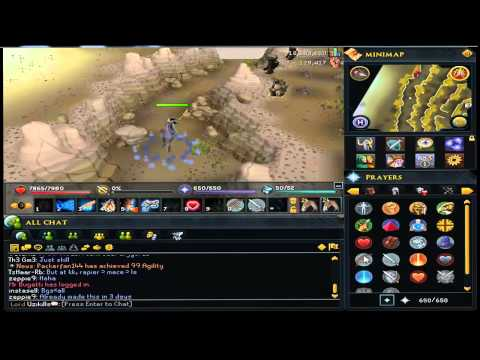 RuneScape – Low Level Bandos Solo Guide With Magic.