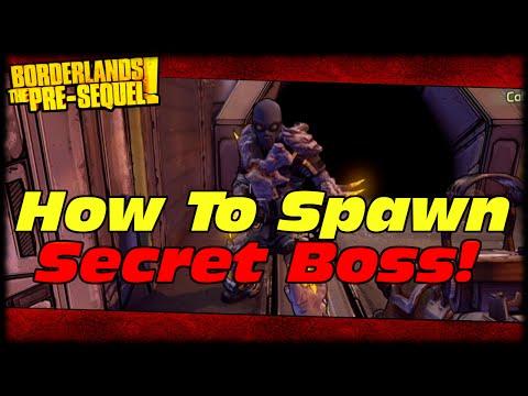 Borderlands The Pre-sequel How To Spawn Secret Boss Nel! Skullmasher Legendary Farming Guide! video