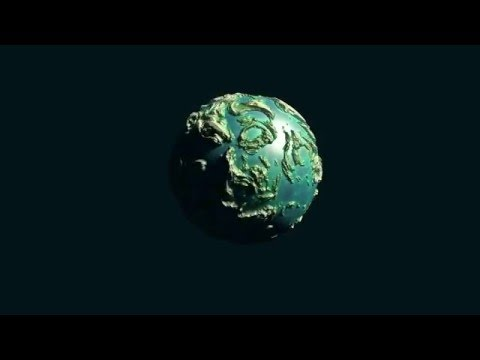 blender short animation globe rotation