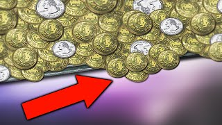 THE BEST COIN PUSHER GAME EVER!