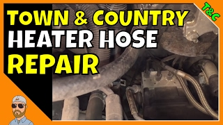 Chrysler Town and Country Heater Hose Repair | Chrysler Town & Country Repair Leaking Antifreeze