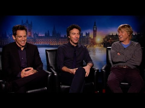 Ben Stiller, Owen Wilson And Shawn Levy Interview: Night At The Museum: Secret Of The Tomb