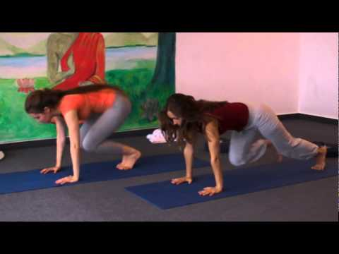 Yoga Class with Affirmations for Development of Mental Powers