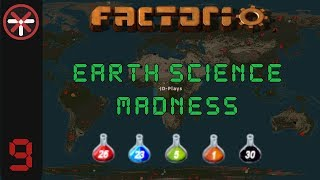 Factorio Earth Science Madness EP9: TRAIN CAR LAB DESIGN! | Multiplayer Gameplay, Lets Play