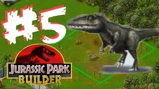 Jurassic Park Builder #5 Carcharodontosaurus Unlocked - Stage 7-8