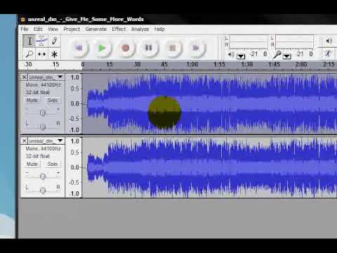 How to Remove Vocals From a Song Using Audacity