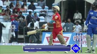CCL6 Finals - Sachiin Joshi Fabulous 100 Runs Telugu Warriors - Match Innings