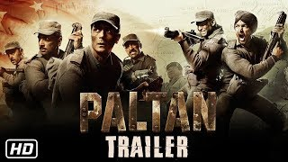 Paltan - Official Trailer Reaction | Jackie Shroff, Arjun Rampal, Sonu Sood | J P Dutta Film |