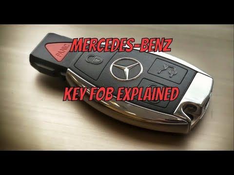 2016 Mercedes Benz ML350 Key Fob Explanation