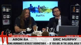Talk Heathen 02.36 with Eric Murphy & Aron Ra