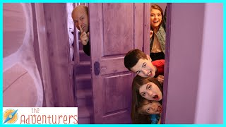 Sneaky Family Sardines In A Cabin  I That YouTub3 Family The Adventurers