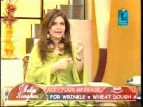 Urooj Moiz in Sola Singhar on Indus Vision 15-03-10 Part 2.mpg