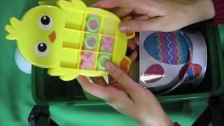 Easter Duck Themed Shoebox from Dollar Tree