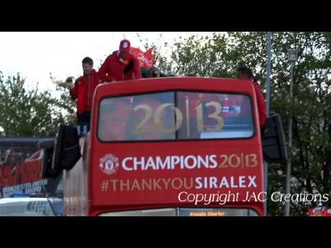 Wayne Rooney Gets Booed At Manchester United CHAMPIONS Trophy Parade 2013