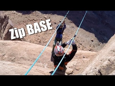 Zipline BASE Jumping - Because it's AWESOME!