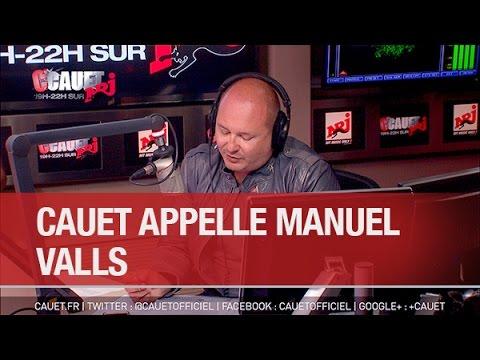 Cauet appelle Manuel Valls pour se faire rembourser - C'Cauet sur NRJ