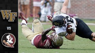 Wake Forest vs. Florida State Football Highlights (2018)