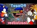 Sonic Adventure 2 Battle - redhotsonic vs Yuan09