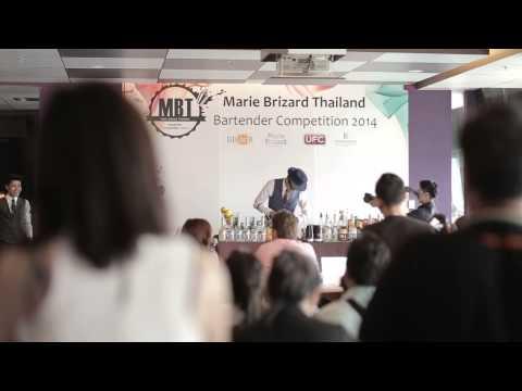 Marie Brizard Thailand Bartender Competition 2014