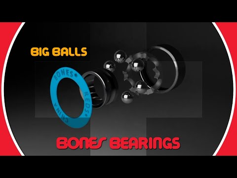 Bones Bearings BIG BALLS - Clip #3 BIG BALLS Animation