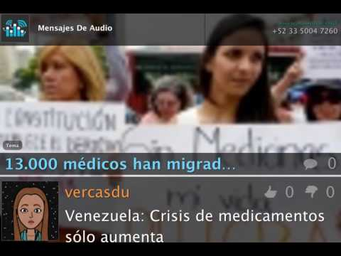 13.000 médicos dejan venezuela