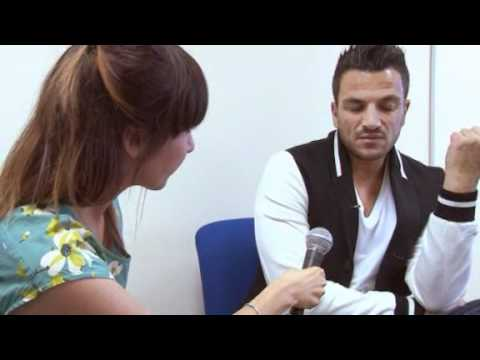 Peter Andre shocked when reporter reveals she has cancer