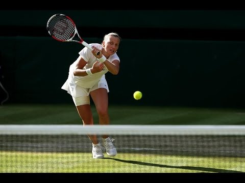2014 Day 8 Highlights, Petra Kvitova vs Barbora Zahlavova Strycova, Quarter-Finals