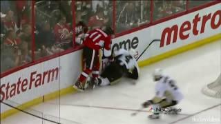 NHL Bloopers - Broken Skate Blades