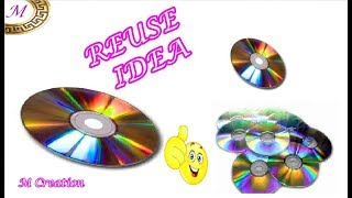 Reuse old cd/Old cd craft idea