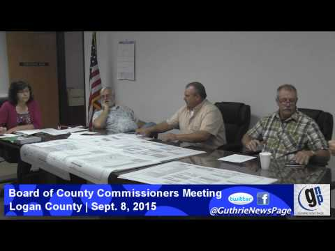 Board of County Commissioners Meeting - Sept. 8, 2015