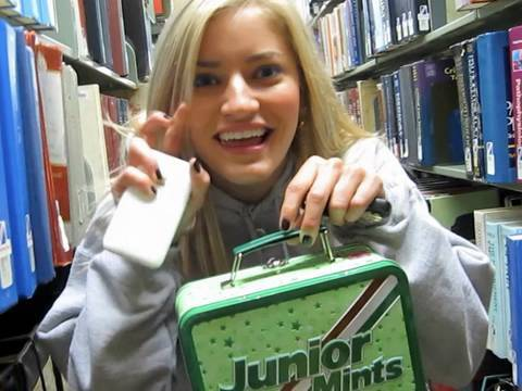 LITTLE SCHOOL GIRL! iJustine goes back to college!