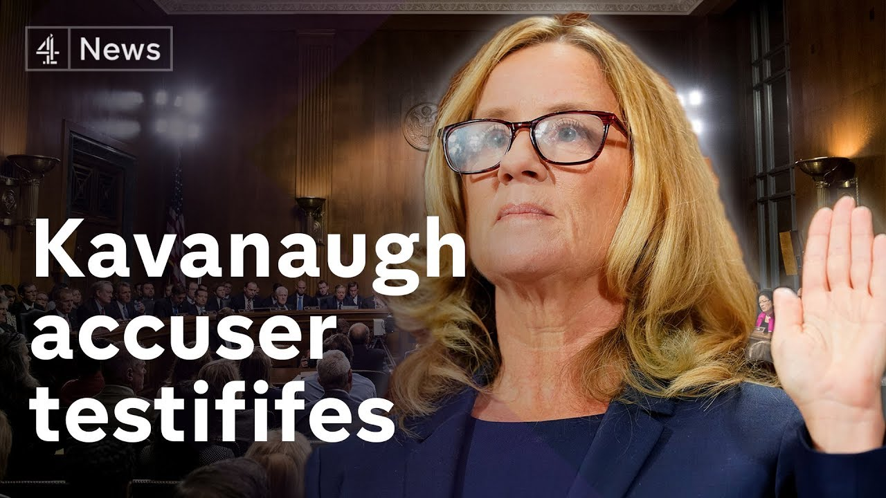 Christine Blasey Ford '100% certain' Supreme Court nominee Kavanaugh sexually assaulted her