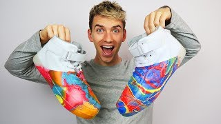 HYDRO DIP SHOES!!