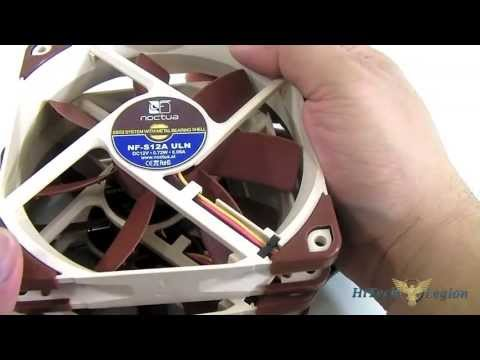 Noctua NF-S12A 120mm Fans Review (FLX. PWM and ULN)
