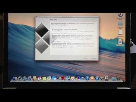 How to install Windows 7 via Boot Camp Assistant on Macbook Pro Retina Dualboot
